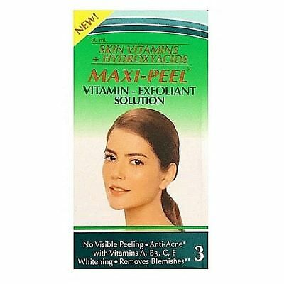 Maxi-Peel Vitamin - Exfoliant Solution 60ml - Level 3 Anti-Acne, Skin Lightening