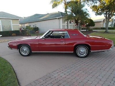 1967 Ford Thunderbird RED 1967 FORD THUNDERBIRD   BEAUTIFUL CAR   A REAL EYE CATCHER  PRICED TO SELL QUICK