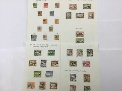collection  of old used/unused  stamps BRITISH GUIANA