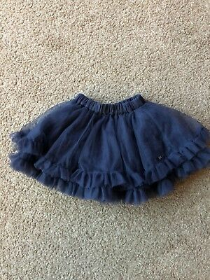 Lili Gaufrette Girls Grey Tutu Skirt Age 18 Months