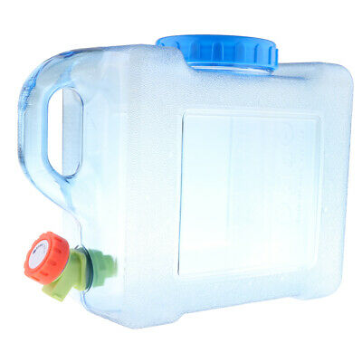 5L Water Container Carrier Bucket Bottle Tank Car Washing Drinking Camping