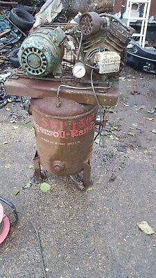 Ingersoll-Rand Model-B  Vertical Air Compressor