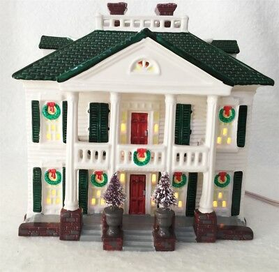 Dept 56 Snow Village Southern Colonial