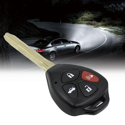 3+1 BUTTON Remote Key Fob Case Shell FOR for Toyota Camry Crown W2