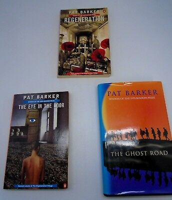 Pat Barker Signed Regeneration Trilogy