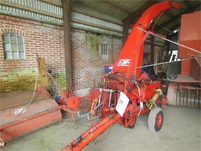 JF Stoll FC 80 Forage Harvester -  Parts Manual