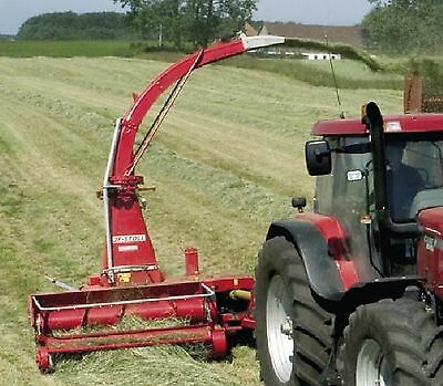 JF Stoll FCT 850 Forage Harvester -  Parts Manual