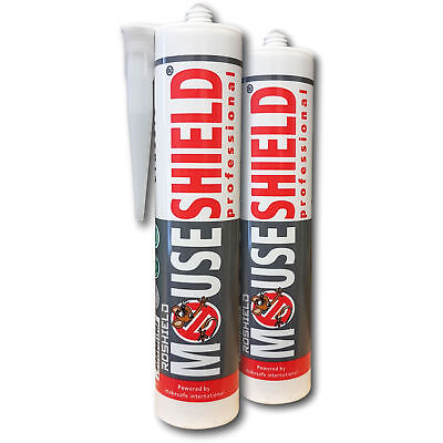 Mouseshield 2 x Mouse Sealant Hole Blocker - Stop Rodent Access Control Prevent