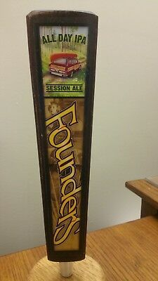 "FOUNDERS ALL DAY IPA 11-1/2"" Beer Tap Handle FREE SHIPPING!"