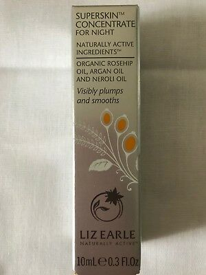 Liz Earle  Superskin Concentrate  For Night   10ml  -  NEW!