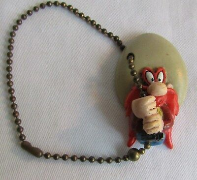 Vintage YOSEMITE SAM 1997 rubber key chain Warner Bros. Cartoons Looney Tunes