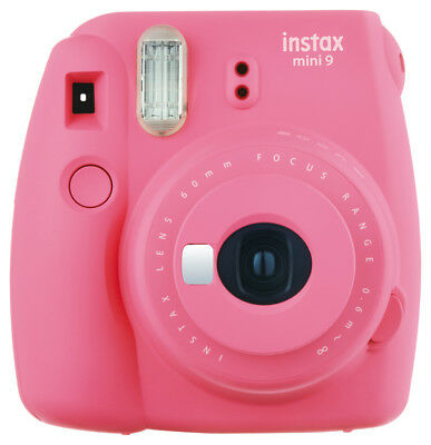 Fujifilm Fuji Instax Mini 9 Flamingo Fucsia Merce Nuova