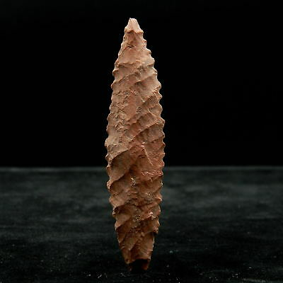 Saharian NEOLITHIC - Flint ARROWHEAD - 71 mm LONG