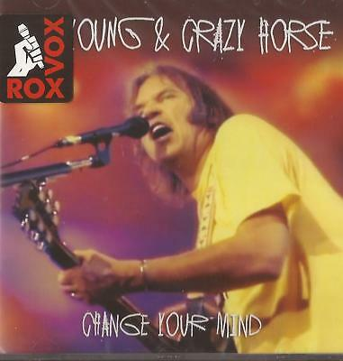 Neil Young and Crazy Horse - Change Your Mind - (CD) Live 1994 NEW/SEALED