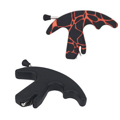 for Compound Recurve Archery Thumb Style Release Aid Trigger Bow New Durable