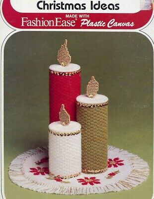 Plastic Canvas Christmas Coaster Patterns.Plastic Canvas Pattern Book Tissue Boxes Coasters