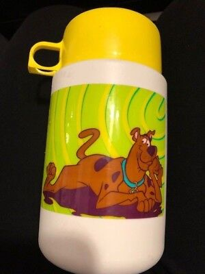 Vintage -Scooby-Doo Thermos Only -  Used Very Little - Kids Love Scooby-Doo