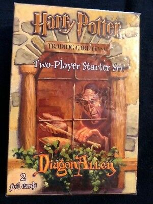 Vintage  2002 Harry Potter Trading Card Game 2-player Starter Set. NRFB