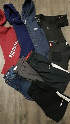 BOYS CLOTHING BUNDLE AGE 9-10 Years NIKE,ADIDAS,NEXT,JUMPERS,TOPS,JOGGERS,TRACK