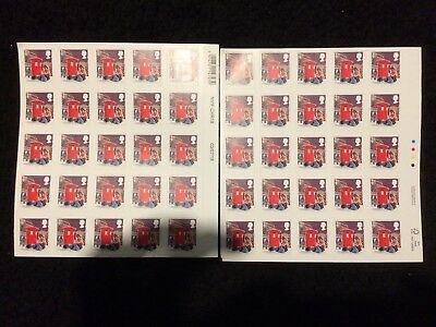 50 First Class Stamps