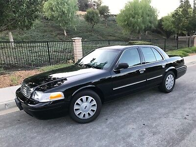 2010 Ford Crown Victoria POLICE INTERCEPTOR 2010 FORD CROWN VICTORIA (STREET APPEARANCE PACKAGE)