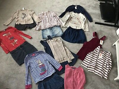 Girls Winter Clothes Bundle Age 6-7 Years John Lewis, Zara, Joules Some BNWT