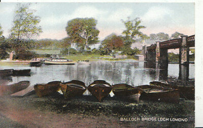 Scotland Postcard - Balloch Bridge - Loch Lomond - Ref 5559A