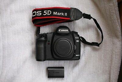 Canon EOS 5D Mark II Full Frame DSLR Camera (Body Only) barely used