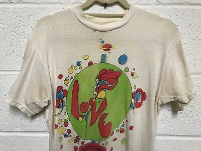 Peter Max T Shirt LOVE - NotNew OR Reprint - Real Vintage 70s Pop Art