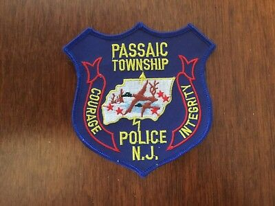 Defunct Passaic Township New Jersey Police