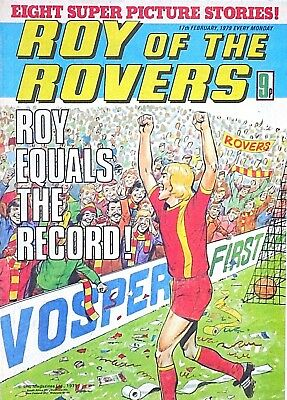 ROY OF THE ROVERS - 17th FEBRUARY 1979 (12 - 18 Feb) RARE 40th BIRTHDAY GIFT !!