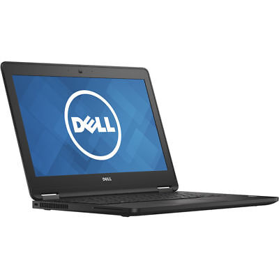 "Dell Latitude E7270 12.5"" Touch i7-6600U 2.6GHz 8GB 512GB SSD Windows 10 Pro"