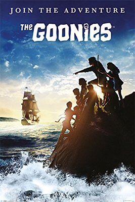 THE GOONIES - JOIN THE ADVENTURE - MOVIE POSTER - 24x36 CLASSIC 52786