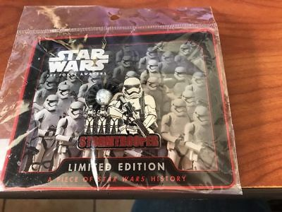 Star Wars Celebration 2017 Disney Stormtrooper Piece Of History Pin Limited