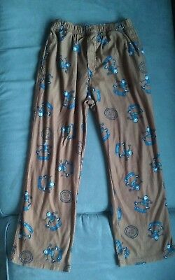 Life is good pajama pants boys skateboarding size 10 medium