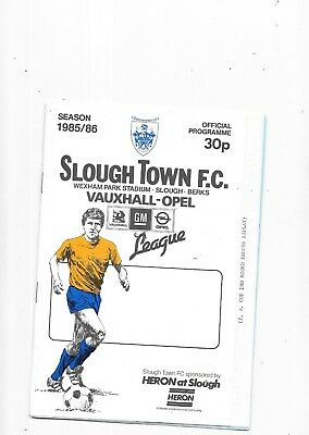 Slough Town v Orient FA Cup 2nd Round replay 10/12/1985