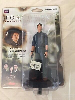 TORCHWOOD 2nd WAVE CAPTAIN JACK HARKNESS FIGURE LIMITED EDITION NEW DOCTOR WHO
