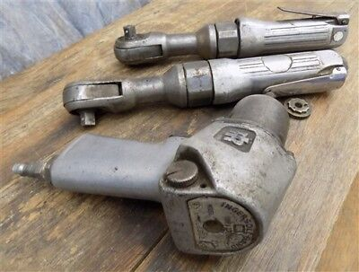 3 Ingersoll Rand Pneumatic Air Operated Impact Wrenches 212 Vintage Impactool