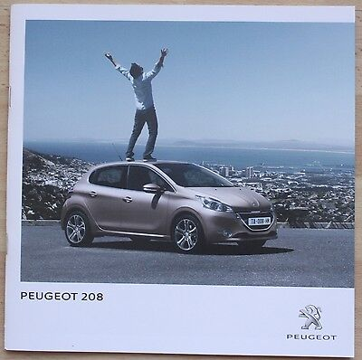 Catalogue Peugeot 208 - France - Décembre 2013 - 32 pages