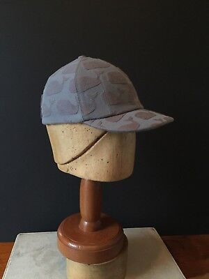 Thom Browne Baseball-Cap in Custom Whale with Tailored adjustable back-strap b4c670f71dcd