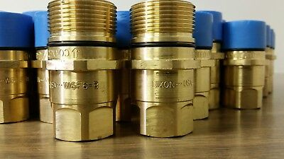 dixon W6F6-B wing type quick coupling plug interchanges with parker 6100