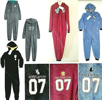 Primark Boys Girls Kids Harry Potter House Hogwarts Pyjamas Sleepsuit Costume