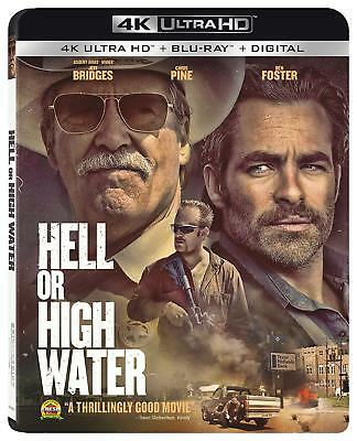 Hell or High Water 4k Ultra HD and Standard BluRay, Brand New