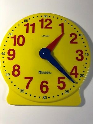 LEARNING RESOURCES Clock