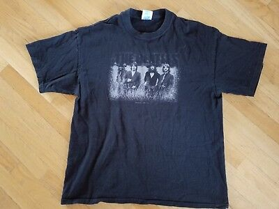 RARE vintage BEATLES T Shirt STRAWBERRY FIELDS  2003 John Lennon Paul McCartney
