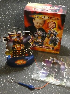 Doctor Who Bbc Dalek Exterminate Buzz Wire Game From Ideal