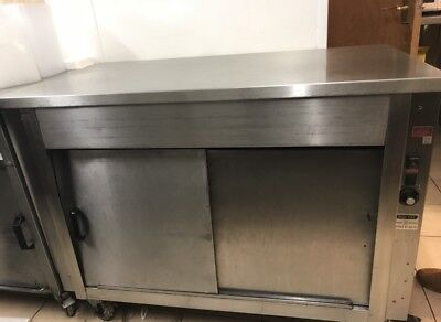 Moffat Hot Cupboard Electric Stainless Steel