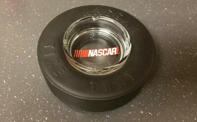NASCAR Promotional Tire Ashtray Glass Insert w/black  Tire