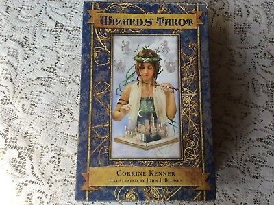 Wizards Tarot Card Deck & Guide Book Mint Condition Box Set RARE OOP