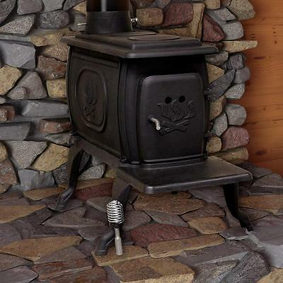 Wood Burning Stove Heater Cast Iron 900 Square Feet Log Cabin Fire Fireplace NEW